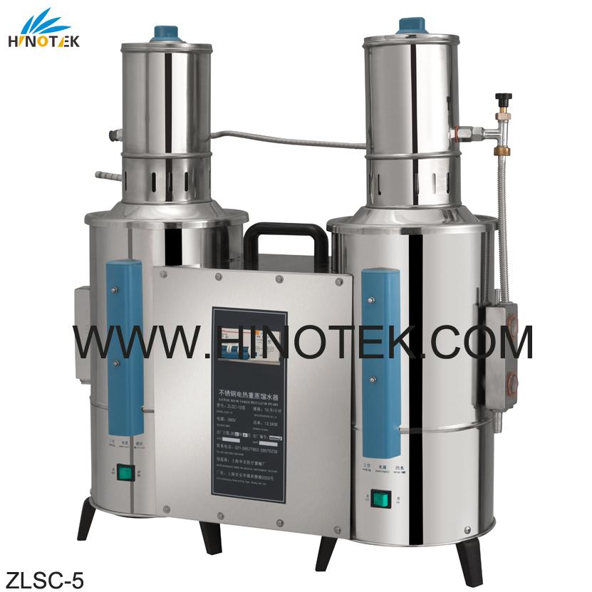 Water Distillation Equipment ~ Zlsc series double distilled lab equipment supply