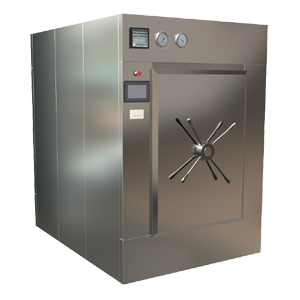PULSE VACUUM AUTOCLAVE (MANUALLY OPERATED DOOR)