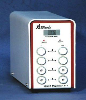 DG on-line vacuum degassing
