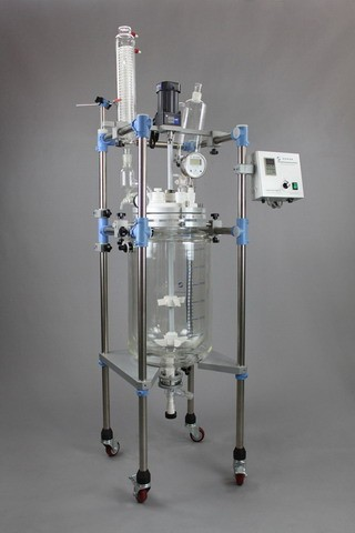 50L Jacketed Glass Reactor-JR-S50