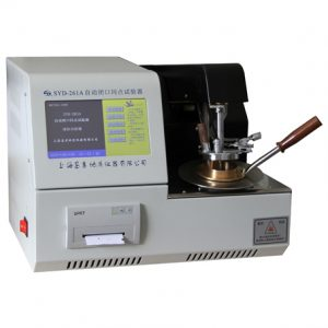 SYD-261A Automatic Pensky-Martens Closed-Cup Flash Point Tester