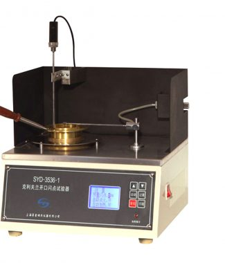 SYD-3536-1 Semi-automatic Cleveland Open Cup Flash Point Tester